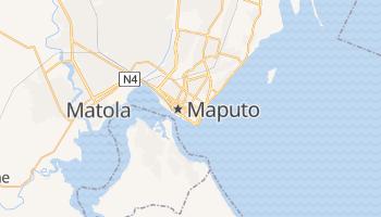 Maputo - szczegółowa mapa Google