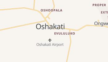 Oshakati - szczegółowa mapa Google