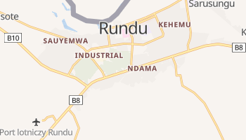 Rundu - szczegółowa mapa Google