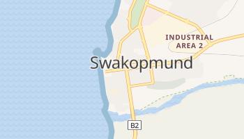 Swakopmund - szczegółowa mapa Google