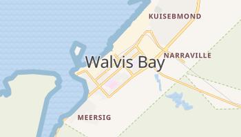Walvis Bay - szczegółowa mapa Google