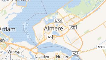 Almere - szczegółowa mapa Google