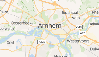 Arnhem - szczegółowa mapa Google