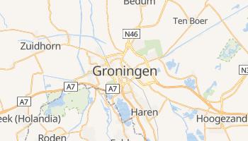 Groningen - szczegółowa mapa Google