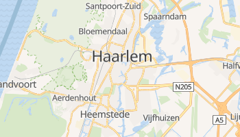 Haarlem - szczegółowa mapa Google