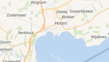 Hoorn - szczegółowa mapa Google