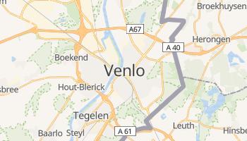 Venlo - szczegółowa mapa Google