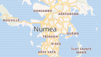 Numea - szczegółowa mapa Google