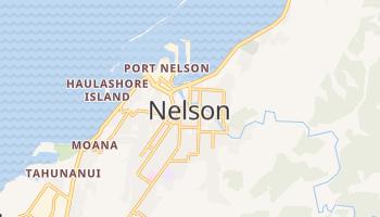Nelson - szczegółowa mapa Google