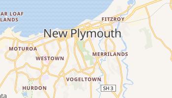 New Plymouth - szczegółowa mapa Google