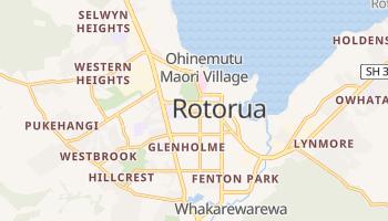 Rotorua - szczegółowa mapa Google