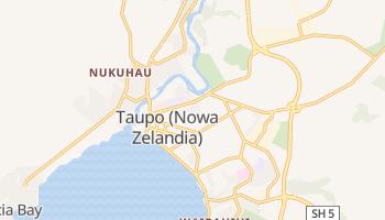Taupo - szczegółowa mapa Google