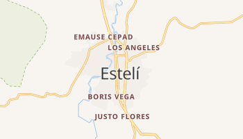 Estelí - szczegółowa mapa Google