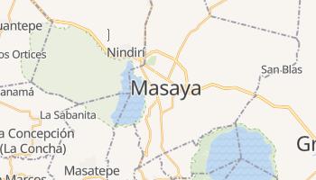 Masaya - szczegółowa mapa Google