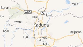 Kaduna - szczegółowa mapa Google