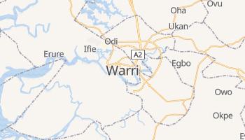 Warri - szczegółowa mapa Google