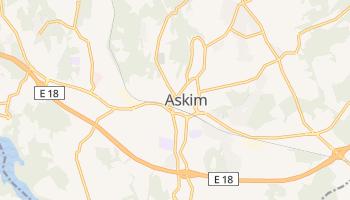 Askim - szczegółowa mapa Google