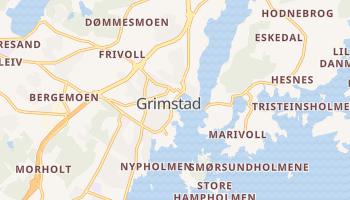Grimstad - szczegółowa mapa Google