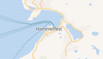 Hammerfest - szczegółowa mapa Google