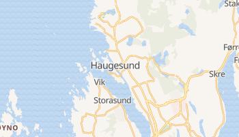 Haugesund - szczegółowa mapa Google