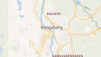 Kongsberg - szczegółowa mapa Google