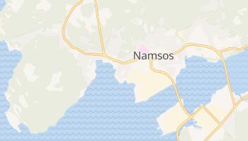 Namsos - szczegółowa mapa Google