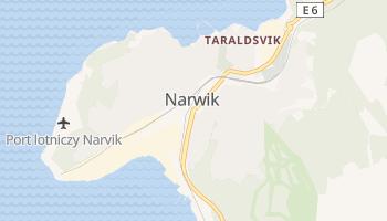Narwik - szczegółowa mapa Google