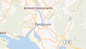 Porsgrunn - szczegółowa mapa Google