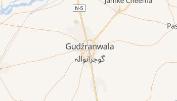 Gudźranwala - szczegółowa mapa Google