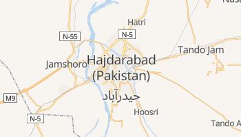 Hajdarabad - szczegółowa mapa Google
