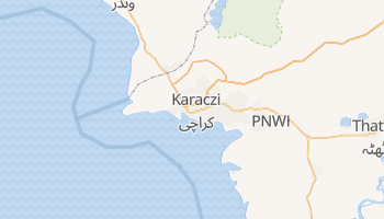 Karaczi - szczegółowa mapa Google