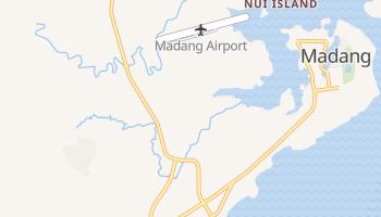 Madang - szczegółowa mapa Google
