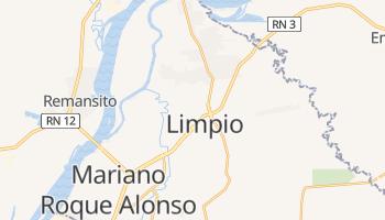 Limpio - szczegółowa mapa Google