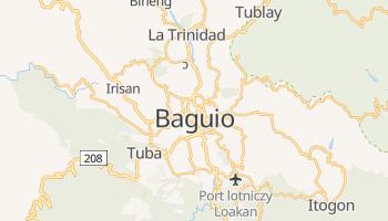 Baguio - szczegółowa mapa Google