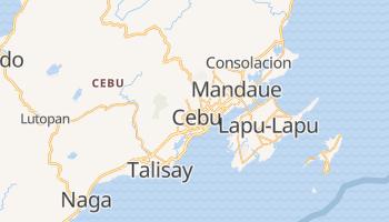 Cebu - szczegółowa mapa Google