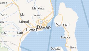 Davao - szczegółowa mapa Google