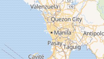 Manila - szczegółowa mapa Google