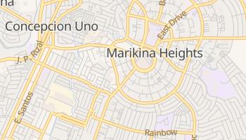 Marikina - szczegółowa mapa Google