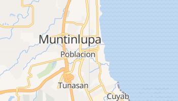 Muntinlupa - szczegółowa mapa Google