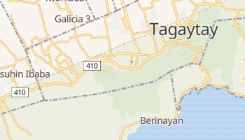 Tagaytay - szczegółowa mapa Google