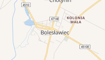 Bolesławiec - szczegółowa mapa Google