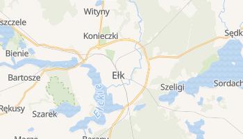 Wapiti - szczegółowa mapa Google