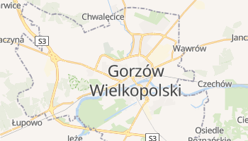 Gorzów Wielkopolski - szczegółowa mapa Google
