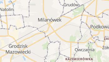 Milanówek - szczegółowa mapa Google