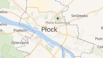 Płock - szczegółowa mapa Google