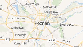 Poznań - szczegółowa mapa Google