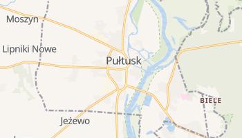 Pułtusk - szczegółowa mapa Google