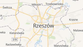 Rzeszów - szczegółowa mapa Google