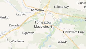 Tomaszów Mazowiecki - szczegółowa mapa Google