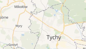 Tychy - szczegółowa mapa Google